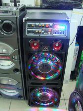 """Комбо-бокс колонки Eltronic K63ch Pro 2х2x10"""" USB/SD/FM /EQ /LED /Bluetooth /микрофон /240Вт Купить"""
