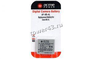 Аккумулятор AcmePower для Canon NB-4L (3.7V, 700mAh, Li-Ion) Цена