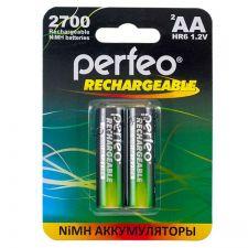 Аккумуляторы AA PЕRFЕO, 2700mAh 2шт. Купить