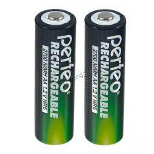 Аккумуляторы AA PЕRFЕO, 2700mAh 2шт. Цена