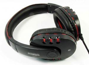 Наушники NAKATOMI HP-T50V с регулятором громкости, шнур 2.2м, тканевая оплетка кабеля Купить