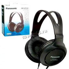 Наушники Panasonic RP-HV161E-K щнур 2м, Extra Bass System, черный Купить