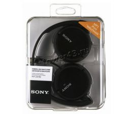 Наушники Sony MDR-ZX110B накладные черные, легкие, складные, шнур 1,2м, L-штекер Купить