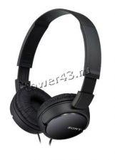 Наушники Sony MDR-ZX110B накладные черные, легкие, складные, шнур 1,2м, L-штекер Цена
