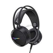 Наушники+Микрофон HOCO W100 Touring игровые, кабель 2.4м, подсветка Купить
