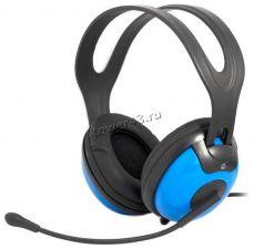 Наушники+микрофон Ritmix RH-945M крепкая конструкция, усиленный тканевый шнур, регулятор громкости Купить