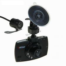 """Автомобильный видеорегистратор Artway AV-520, 1440*1080, 1.3Мрх, 2камеры, 120гр, IK подсветка, 2.4"""" Цена"""