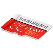Память micro SDHC 32Gb class10 Samsung EVO Plus, UHS-I U1 95Mb/s, без адаптера, Retail Купить