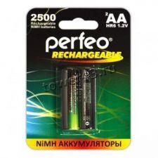 Аккумуляторы AA 2850mAh PERFEO, 2шт. Купить