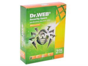 Антивирус Dr.Web Secury Space для Windows на 2ПК на 2года или 1ПК на 4года+150дней Купить