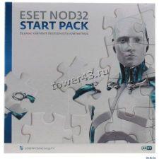 Антивирус Eset NOD32 Rus START PACK- базовый комплект безопасности компьютера, лицензия на 1ПК на 1г Купить