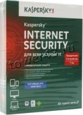 Антивирус Kaspersky Internet Security Multi-Device BOX/СARD, продление лицензии.1год на 2 устройства Купить