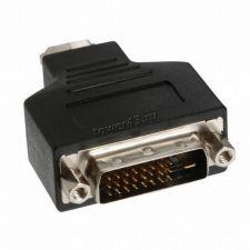 Переходник-конвертор видеоразъема DVI-D (24+1M) -> DSUB (15F) 10см Цены
