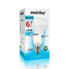 Лампа светодиодная (LED) SMARTBUY  R50  6Вт, 4000К, E14  (SBL-R50-06-40K-E14-A) Ret. Купить