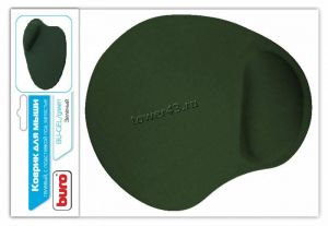 Коврик для мыши BURO гелевый BU-GEL с подушкой под запястье, 230х205х2.5мм (черный) Купить