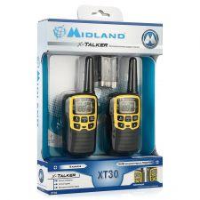 Радиостанция Midland XT30 (2 рации) черный, акб, шумоподавление, комплект 2шт Цена