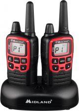 Радиостанция Midland XT60 (2 рации), акб, 2 режима мощности, комплект 2шт Купить