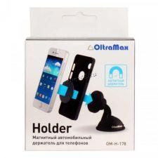 Автомобильный держатель OltraMax OM-H-177 /178 /207 /210, для 4''-6'', магнитный/прищепка на стекло Цена