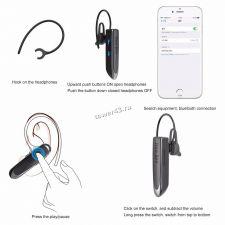 Беспроводная моно Bluetooth гарнитура NewBee LC-B41, до 24/500часов, ВТ5.0, русская озвучка Где купить
