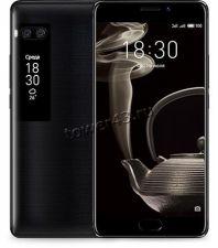 """Смартфон Meizu Pro 7 FullHD, 4Гб+64Гб, 5.2""""+1.9"""" дисплеи, акб3000mAh, 12 и 16Мпх, черный +подарок Купить"""