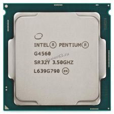 Процессор Intel Pentium G4560 S1151, 3.5GHz/3Mb, Dual-Core, KabyLake, 14nm, 54W, GPU HD Graphics 610 Купить