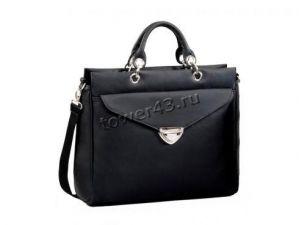 """Сумка для ноутбука 15.6"""" 3Cott LB-006, женская, черная, кожзам Купить"""