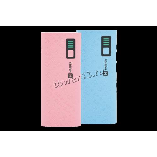 Внешний мобильный аккумулятор HARPER PB-10007 10000mAh, 2А, LiIon (цвет в ассортименте)