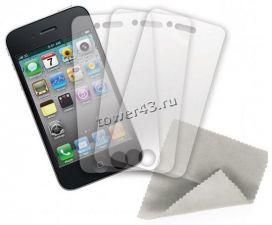 Защитная пленка на экран для iPhone5S  (ELTRONIC) матовая КОМПЛЕКТ 2в1 Купить