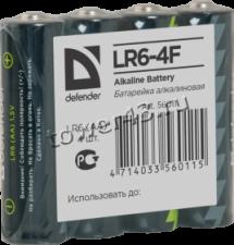 Батарейка алкалиновая DEFENDER AA Купить