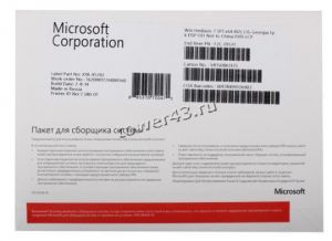 Программное обеспечение MS Windows XP Starter SP2b Russian DVD Купить