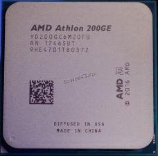 Процессор AMD Athlon 200GE Socket AM4 3,2GHz, Vega3 , L3 4Mb, 2хядерный, 4хпоточный Купить
