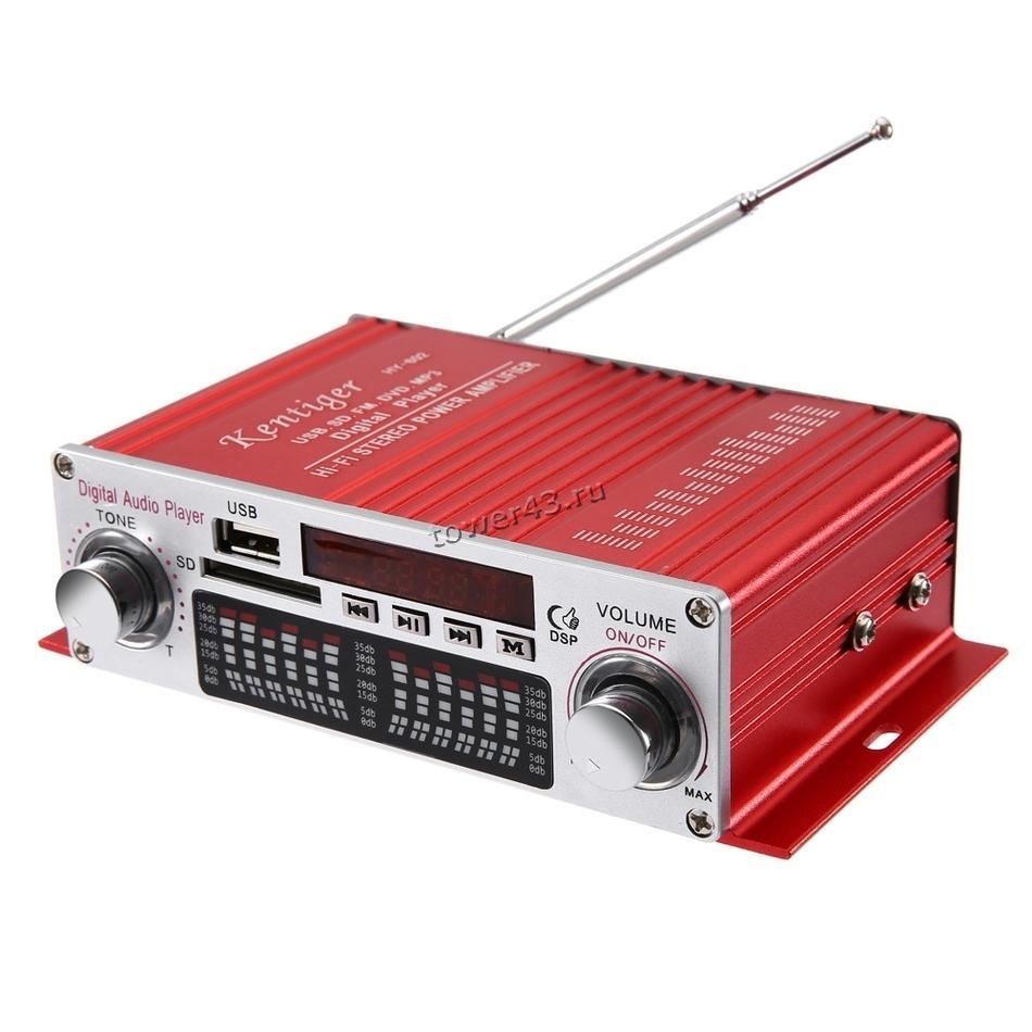 Усилитель аудио Kontiger HY-602 40Вт, дисплей, USB, SD, FM, пульт (цвет в ассортименте)