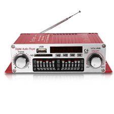 Усилитель аудио Kontiger HY-602 40Вт, дисплей, USB, SD, FM, пульт (цвет в ассортименте) Цены