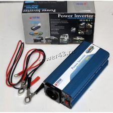 Инвертор автомобильный (преобразователь тока) TITAN TITAN HW-300V6 12В -> 220В, 300Вт на клеммы Купить