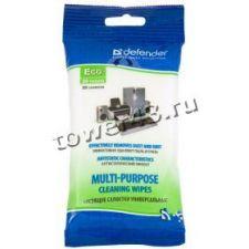 Салфетки Defender Eco 30200 мягкая упаковка с влажными универсальными чистящими салфетками, 20шт Купить