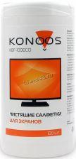 Салфетки KONOOS для ЖК-экранов KBF-100 ECO (100штук в банке) Купить