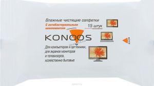 Салфетки KONOOS Салфетки для ЖК-мониторов KSN-15 (15штук) Купить