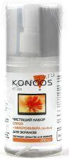 Спрей KONOOS KT-200 для экранов всех типов +салфетка из микрофибры 18х18см, 200мл Купить
