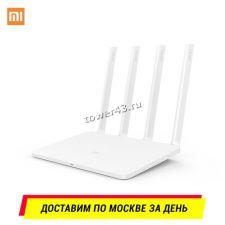 Маршрутизатор (роутер) беспроводной Xiaomi Mi 3 EU двухдиапазонный до867мбит/с, 2хRJ45, 4х6dBi, USB Купить