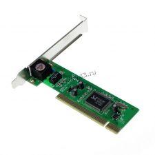 Сетевая карта NoName (чип Realtek 8139D) 10/100Mb PCI oem Купить