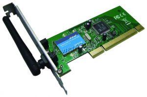 Сетевая карта беспроводная Gembird NICW-RPCI, 802.11b/g Wi-Fi LAN PCI Card Купить