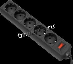 Сетевой фильтр 3m 5розеток с выключателем Купить