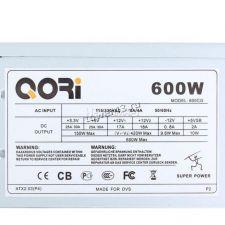 Блок питания SuperPower 600W ATX (P4 Ready) вентилятор 12см oem Купить