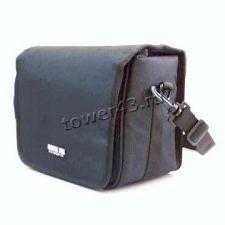 Сумка для фотоокамеры Camera Bag, большая, черная, 11.5х8см, кожа A75 Купить