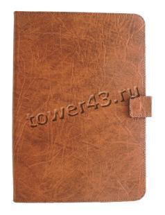 """Чехол для планшета 8"""" IVT Classic кожа IVT 210х160мм Россия коричневый"""
