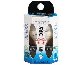 Лампа светодиодная (LED) ЭРА P45  5Вт, 4200К, E14  (LED smd P45-5w-842-E14) Ret. Купить