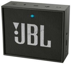 Мобильная колонка JBL GO блютуз, AUX, 3Вт, черная, акб до 5часов Купить
