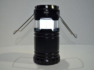 Кемпинговый светодиодный фонарь 6 LED встроенный аккумулятор+солнечная батарея /заряд от сети /USB Купить