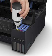 МФУ струйное EPSON L4160 принтер, копир, сканер, СНПЧ, 4 цвета, WiFi, картридер, дисплей, пигм.черн. Цена