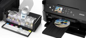 МФУ струйное EPSON L4160 принтер, копир, сканер, СНПЧ, 4 цвета, WiFi, картридер, дисплей, пигм.черн. Цены
